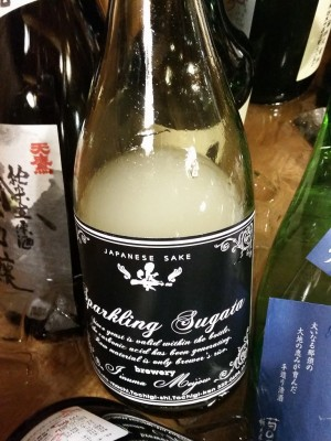 Sparkling  Sugata  純米吟醸