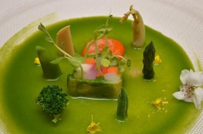 春野菜のお浸し