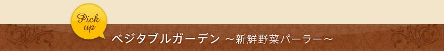 ベジタブルガーデン〜新鮮野菜パーラー〜